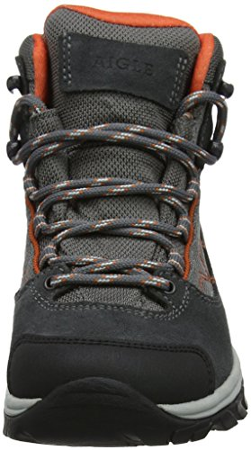 Papaye de Senderismo para Zapatos Mooven 001 Mujer Rise Wgtx Mid Darkgrey Gris High Aigle pU7qW