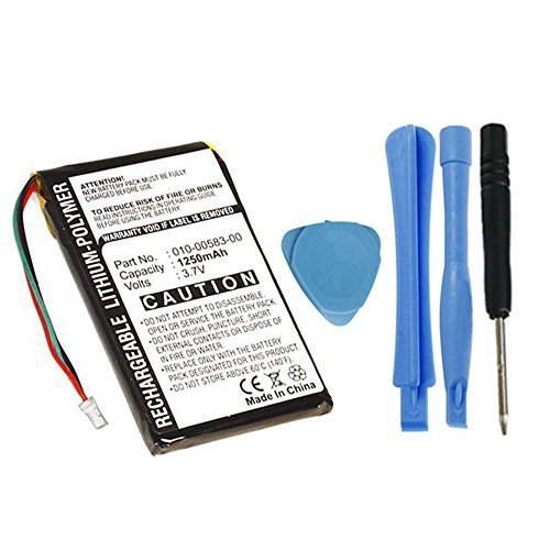MPF Products 361-00019-11 010-00583-00 Battery Replacement Compatible with Garmin Nuvi 700 710 710T 750 755 755T 760 760T 765 770 770T 775 785 GPS Navigation Units