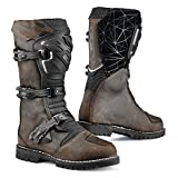 TCX 7160W Drifter Mens Street Motorcycle Boots - Vintage Brown Size Eu 47 / Us 12.5