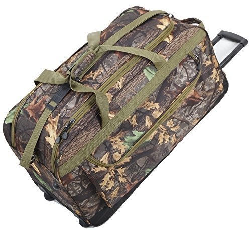 Explorer Mossy Oak Realtree Like Tactical Hunting Camo Heavy Duty Duffel Bag Luggage Travel Gear for Huniting Outdoor Police Security Every Day Use (30