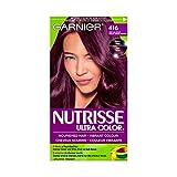 Garnier Nutrisse Ultra Color in 416 Intense Violet.Nourished hair, vibrant color