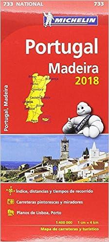 Mapa National Portugal Colección Mapas National Michelin: Amazon.es: Vv. Aa, Vv. Aa: Libros