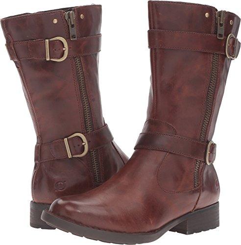 Född Erie Boots - Womens Cognac Fullnarvskinn