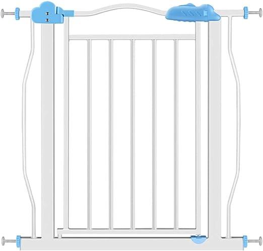 Ancho de la Puerta de Seguridad para niños 77-87cm Escalera Puerta de la Cerca de Seguridad sin perforar Función de Cierre automático (Tamaño : Wall mounting Method): Amazon.es: Hogar