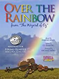 Over the Rainbow for String Quartet with 2 CDs