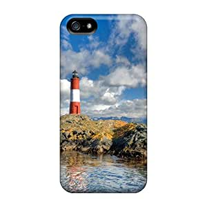Snap-on Lighthouse At The End Of The World Cases Covers Skin Compatible With Iphone 5/5s