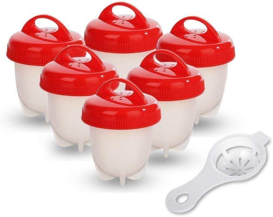 AiBest Hornillo para cocinar Huevos Duro y Suave, sin Conchas ...
