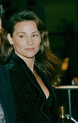 Vintage photo of Pierce Brosnans girlfriend at the premiere of Mary Shelley39;s Frankenstein -