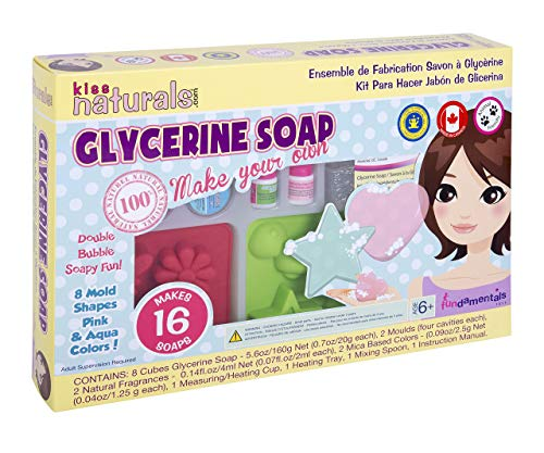 KISS NATURALS Premium DIY Soap Making Kit For Kids (Age 6+) Best Craft Kit For Making Soap - Natural Create and Make Your Own Soap Starter Kit Set - Great Gift For Kids!