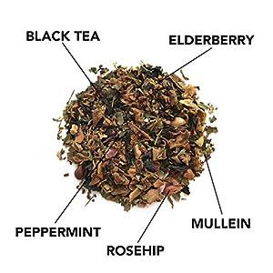 Trankebar Functional Herbal Tea Variety Pack (Kings Light, Wild Swans, and Nightingale 3 pack of 15 Tea Bags) Premium Specialty Tea Made With Quality Ingredients 4