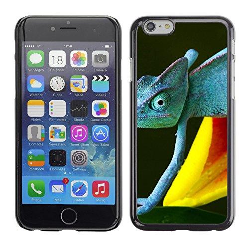 "Premio Sottile Slim Cassa Custodia Case Cover Shell // V00002997 caméléon bleu // Apple iPhone 6 6S 6G 4.7"""