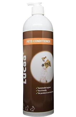 LUCAA+ Acondicionador para Mascotas/ Perros y Gatos 1l | Producto Sostenible con Probióticos | Bio