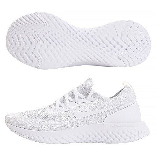 Running React 102 Femme de White Pure Multicolore Compétition Chaussures Platinum White WMNS True Epic Flyknit NIKE XEZ8YqRn