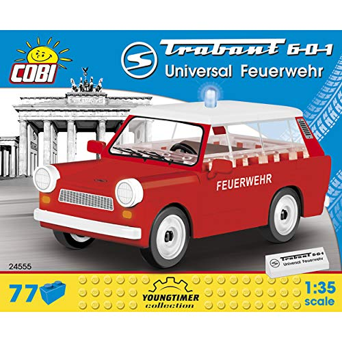 Cobi COB24555 Trabant 601 Universal Feuerwehr Brick Built Model kit