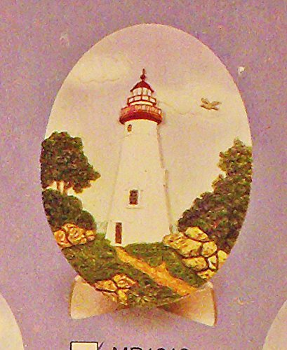 Marblehead Ohio Lighthouse 3 Dimensional Sculpted Decorative ()