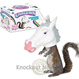 (Ship from USA) Magical Unicorn Squirrel Feeder Nuts Chimpmunk Hanging Gag Gift Novelty /ITEM NO#8Y-IFW81854244229