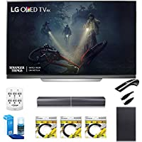 LG 65 E7 OLED 4K HDR Smart TV OLED65E7P w/LGSJ7 Wireless Sound Bar Bundle