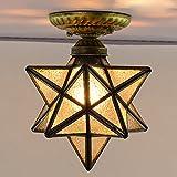 LUMINTURS Luxury 12inch(12'') 7W LED Ceiling Fixture Lamp E27 Bulb Diamond...