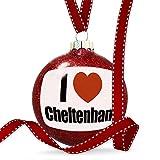 Christmas Decoration I Love Cheltenham, region:al South West England, England Ornament