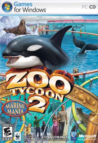 Zoo Tycoon 2: Marine Mania Expansion - - Zoo Tycoon Game Pc