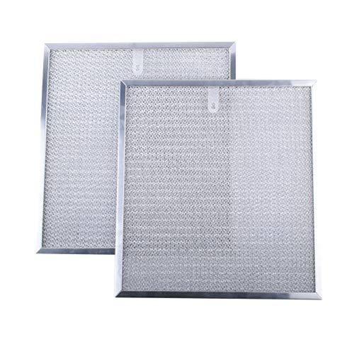 99010316 Range Hood Vent Grease Filter Replacement for Broan Models 99010316, S99010316, WA65AF, NTK7450000, 990721400A (2 pack)