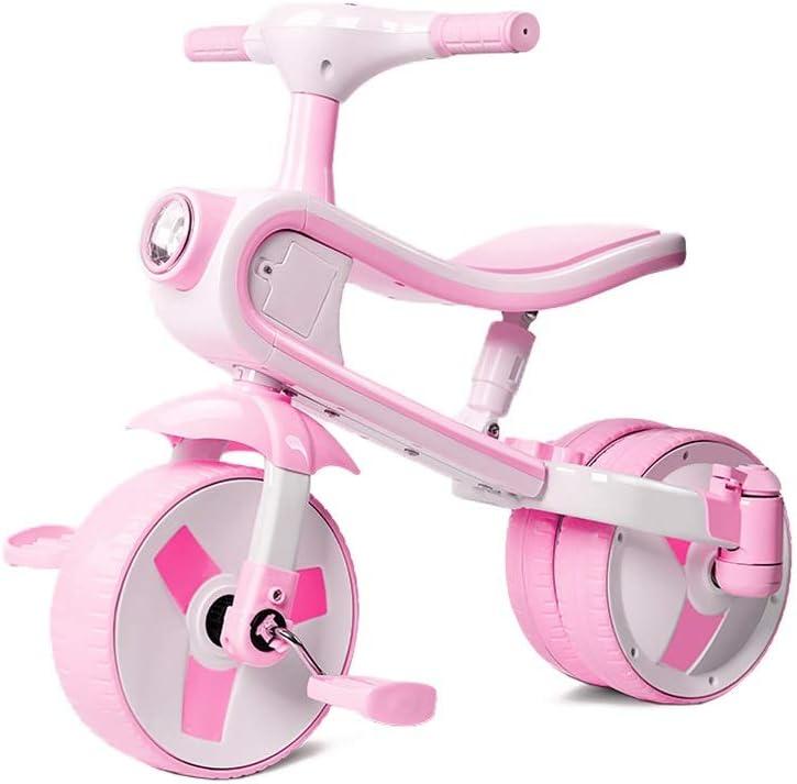 LRHD 2 en 1 puede montar y tobogán, conveniente for 1-3 años de edad, los niños del triciclo, 3 ruedas bicicleta de los niños, niños y niñas del triciclo, Apto for niños de triciclo, bicicleta de los