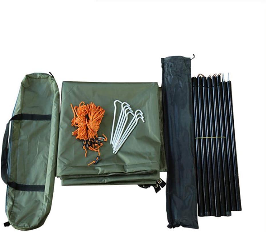 Hi Suyi Camping Hamac B/âche Abris Ultra-l/éger Pluie Couverture Auvent de lombre Portable Tente Etanche Soldat 3m x 3m Vert arm/ée pour randonn/ée Pique-niquer Jardin Plage