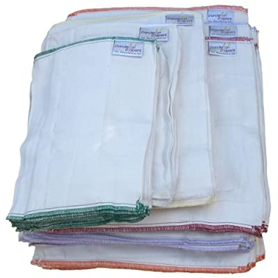 Dandelion Diapers 100% Organic Cotton DSQ Prefolds Dozen