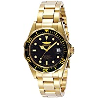 Invicta Men's Pro Diver Quartz 23k-Yellow-Gold-Plated-Stainless-Steel Sport Watch (INVICTA-8936)