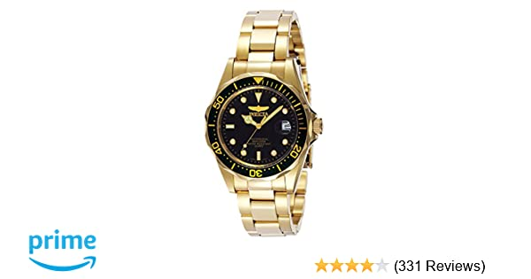 Amazon.com: Invicta Mens 8936 Pro Diver Collection 23k Gold Plated Watch: Invicta: Watches