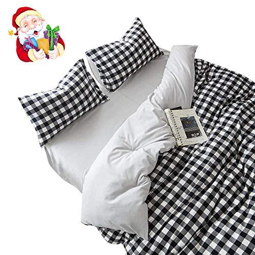 BuLuTu Cotton Kids Bedding Duvet Cover Sets Twin Cotton Brus