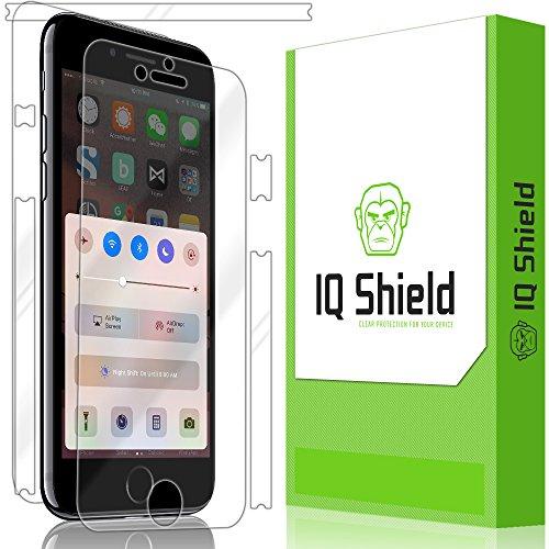IQ Shield LiQuidSkin Full Body Skin + Full Coverage Screen Protector for Apple iPhone 7 HD Clear Anti-Bubble Film