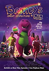 Barney's Great Adventure 11x17 Movie Poster (1998)