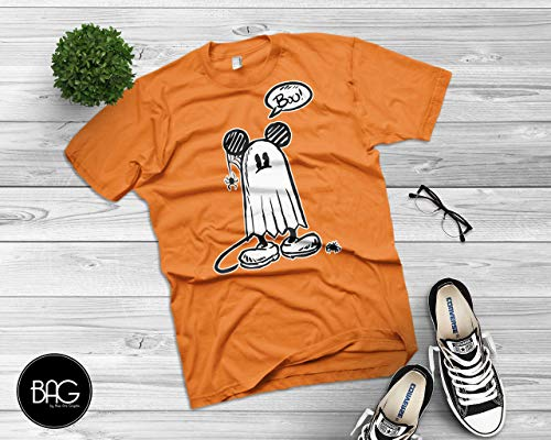 Ghost Mickey Mouse Shirt Happy Halloween Shirt - Mickey Mouse - Gift For Him or Gift For ()