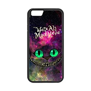 iPhone 6 Protective Case -Nebula Galaxy Space Cheshire Cat Hardshell Cell Phone Cover Case for New iPhone 6