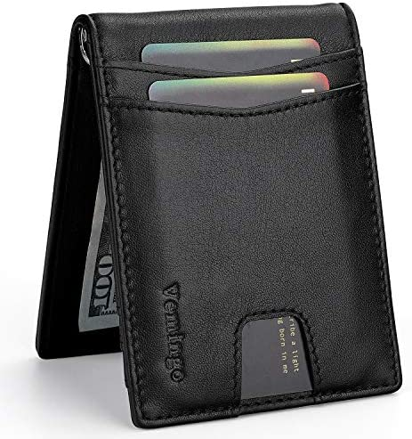 Vemingo Wallets Genuine Leather Blocking product image