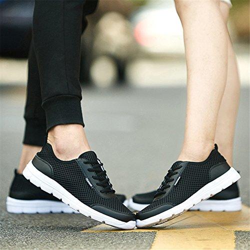 ランニングシューズ 超通気 スニーカー メンズ レディース JOYTO ウォーキングシューズ メッシュ 軽量 速乾 スポーツ 運動靴 防滑 柔らかい 歩きやすい 履きやすい 男女兼用 靴擦れ無し 散歩 通勤 通学 旅行 シンプル