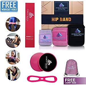 Giveaway: Hip Circle Fabric Booty Bands(3pcs)