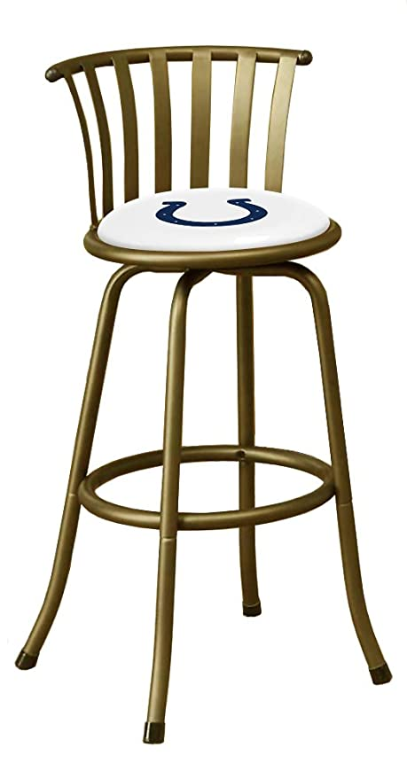 The Furniture Cove 1   Bronze Finish Bar Stool With Optional Legs For A  24u0026quot;