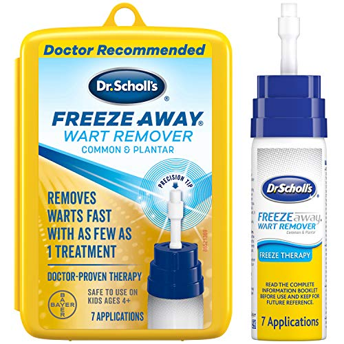 Dr. Scholl's FreezeAway Wart Remover, 7 Applications // Doctor-Proven...