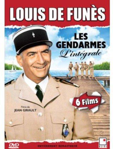 L'Integrale Les gendarmes (Louis de Funes) 6 films - French only