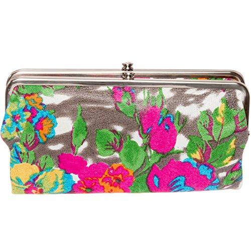[Hobo Womens Lauren Vintage Wallet Clutch Purse (Lush Tropics)] (Hobo Purse)
