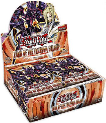 YuGiOh Lord of the Tachyon Galaxy Unlimited Booster BOX [24 Packs]
