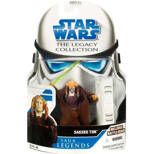 Star Wars Legacy Collection: Saga Legends #26 Saesee Tiin Action Figure