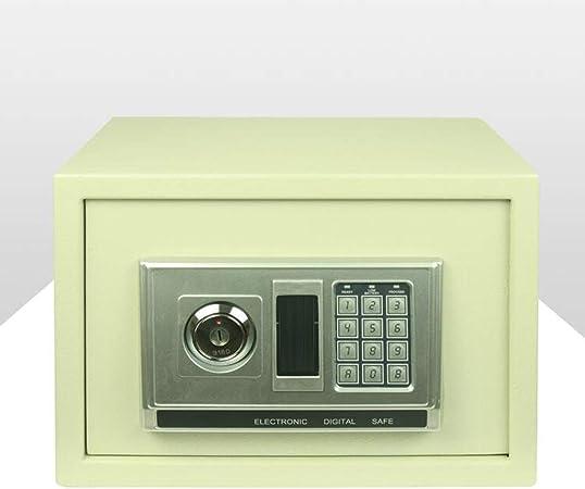 25cm pequeña casa segura, alarma invisible Mini contraseña de clave caja fuerte, oficina de cabecera en