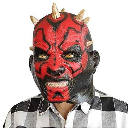 Película Scary Star Wars Darth Maul Adulto Completo Latex ...