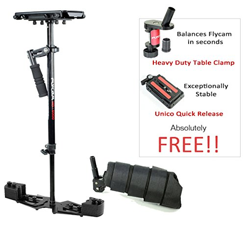 """FLYCAM HD-5000 29""""/73cm Micro Balancing Handheld Steadycam with Arm Brace for Camera upto 5kg/11lb 