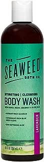 product image for The Seaweed Bath Co. Hydrating Body Wash, Lavender, Nutrient-Rich Bladderwrack Seaweed, Vegan, Paraben Free, 12 fl. oz.