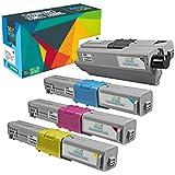 Do it Wiser Compatible Toner for OKI Okidata C332dn C332 MC363dn MC363 Printers - 46508704, 46508703, 46508702, 46508701 (4-Pack)