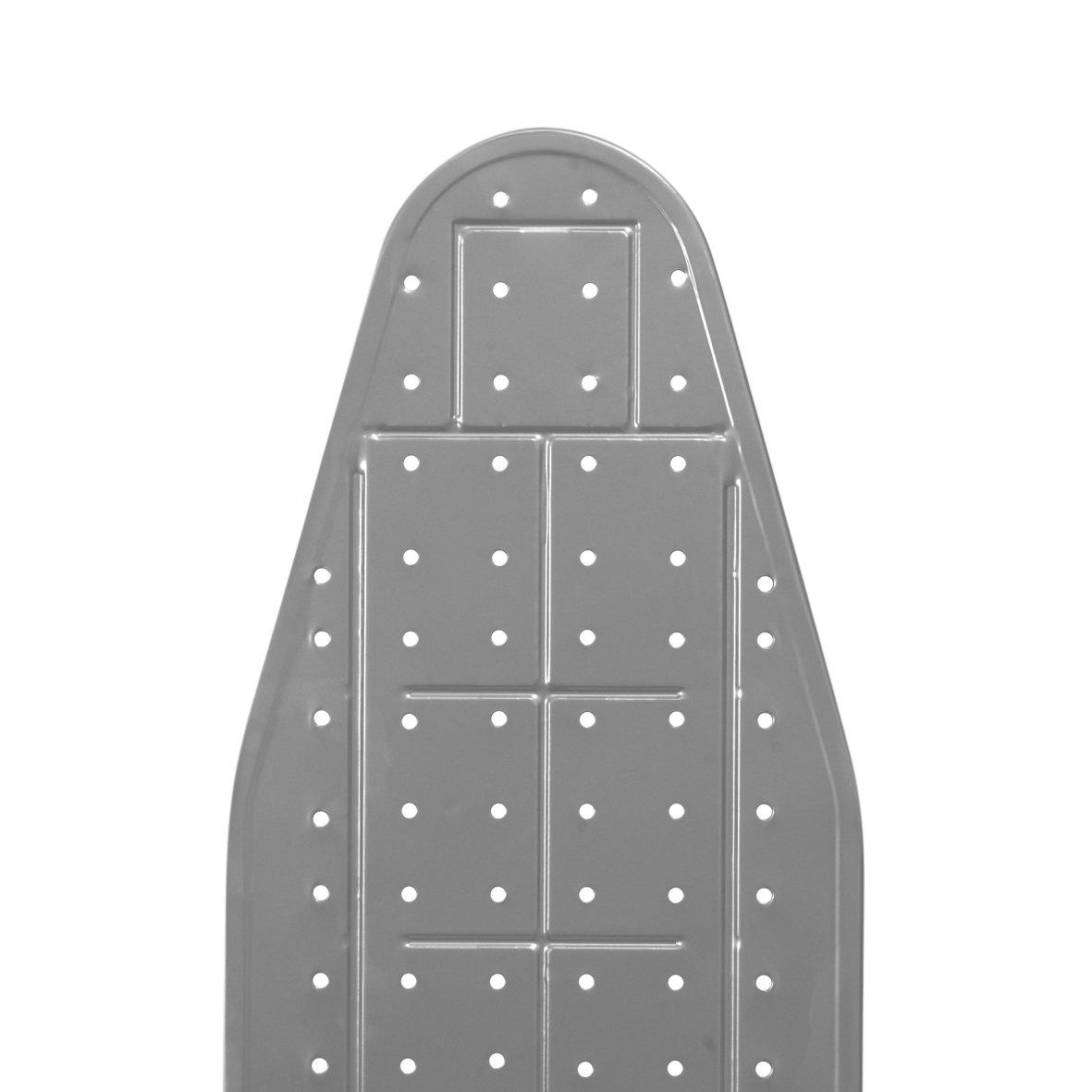 Econat Viva Adjustable Foot Caps, 4-Leg, Adjustable Height, Large Ironing Board (Grey)